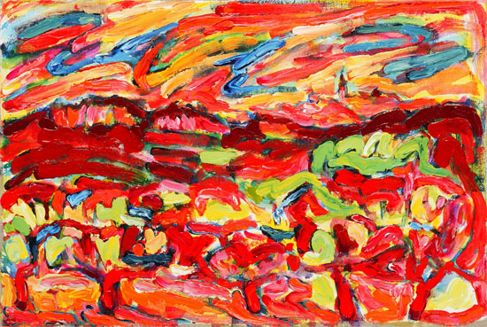 Ou sont vous, Roussillon?, Where are you, Roussillon? painting from Brenda J. Clark Gallery